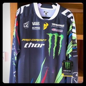 Thor pro circuit monster energy phase Jersey NWT